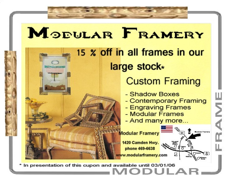 Modular Framery Art And Picture Framing In Sumter Sc